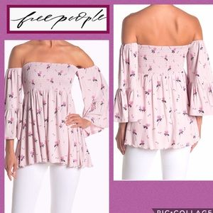 B2G1 FREE PEOPLE Top Lana Cloud Berry Pink Lavend.